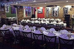 Festive Italian Dinner and Disco Celebration Christmas Party in Brighton