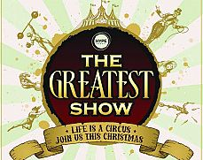 The Greatest Show! Exclusive Party Christmas Party in Bristol