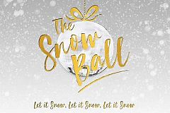Festive Snow ball Christmas Party in