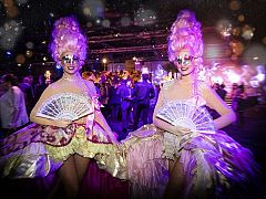 Exclusive Italian Masquerade Ball Christmas Party in Liverpool