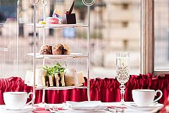 Festive Afternoon Tea Experience Christmas Party in London
