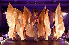 Spectacular Cabaret Show with Dinner Christmas Party in London