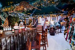 Festive Lunch at The Ski Lodge with Finger Buffet Christmas Party in London