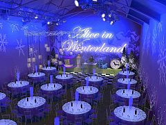 Alice in Winterland Christmas Party in London