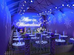 Exclusive Alice in Winterland Christmas Party in London