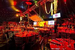 Exclusive Cirque Lumiere Christmas Party in London