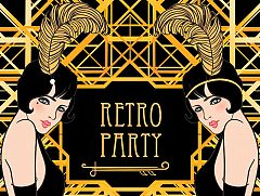The Roaring Twenties Christmas Party in London