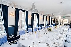 Snowflake Christmas Dining Package Christmas Party in London
