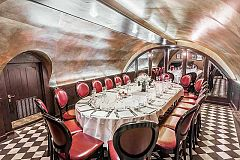 Three-Course Christmas Dinner at Private Vaults Christmas Party in London