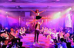 A Gatsby Christmas Cabaret Evening - Gold and Diamond Premium Packages Christmas Party in London