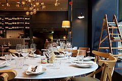 Threadneedle Street Exclusive Christmas Brasserie Meal Christmas Party in London