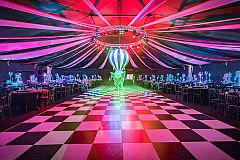 Exclusive Dream Circus Christmas Party in