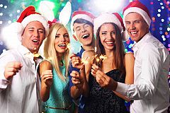 Exclusive Party Nights Christmas Party in Northampton