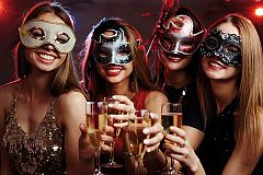 Private Venetian Masquerade Ball Christmas Party in Nottingham