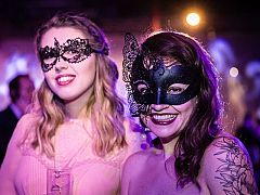 Exclusive Italian Masquerade Evening Christmas Party in