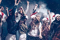 Exclusive Holly Jolly Holiday Party Nights Christmas Party in