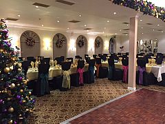 Magnificent Glitter Ball Celebration Christmas Party in Warwickshire