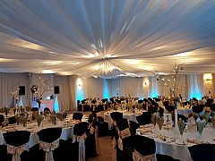 Winter in The Woodlands Suite Party Night Christmas Party in Warwickshire