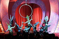 Exclusive Burlesque Christmas Party in