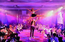 1920's Cabaret Evening - Gold and Diamond Premium Packages Christmas Party in London