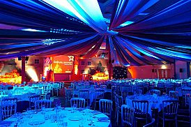 Christmas Market Themed Celebration Christmas Party in Reading