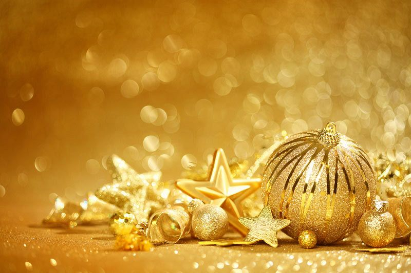 All That Glitters Is Gold Christmas Celebration
