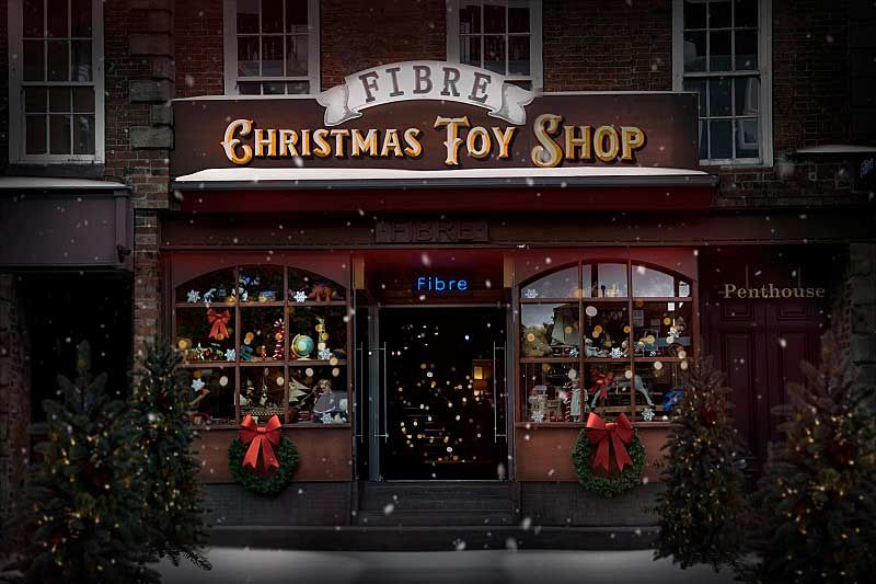 Christmas 'Toy Shop' Themed Party