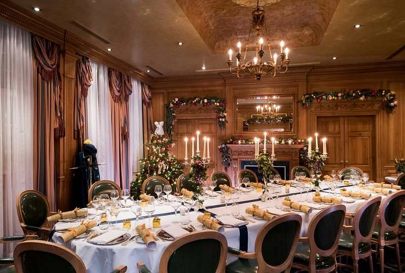 Champagne And Festive Reception