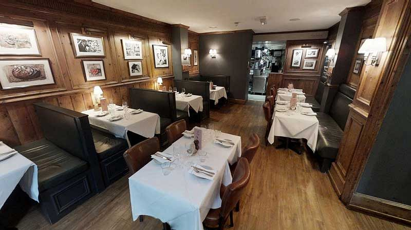 Chancery Lane Exclusive Christmas Brasserie Meal