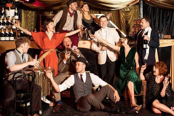 Exclusive Great Gatsby Christmas Party