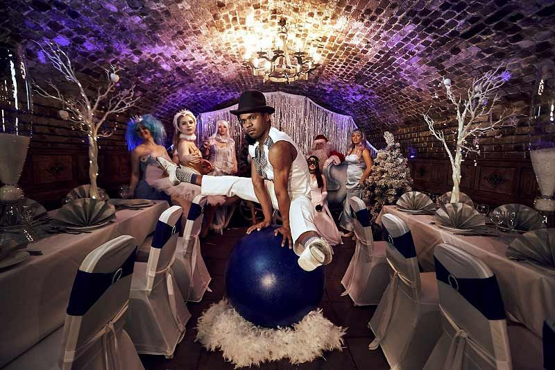 Themed Christmas Lunch At Stunning Vaulted Venue