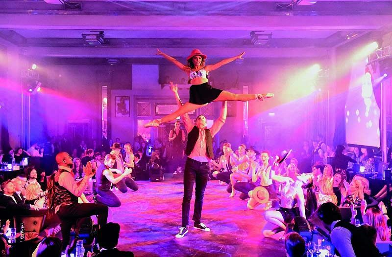 A Gatsby Christmas Cabaret Evening - Gold And Diamond Premium Packages